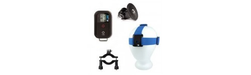 GoPro accessories and mounts